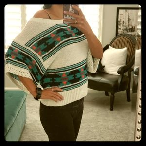 Aztec American Eagle knit top